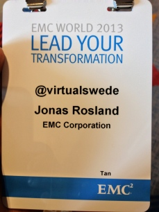 EMC World 2013 Badge Hack