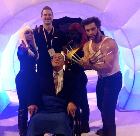 Jonas Rosland and X-Men