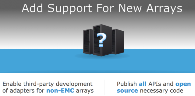 Add support for new arrays